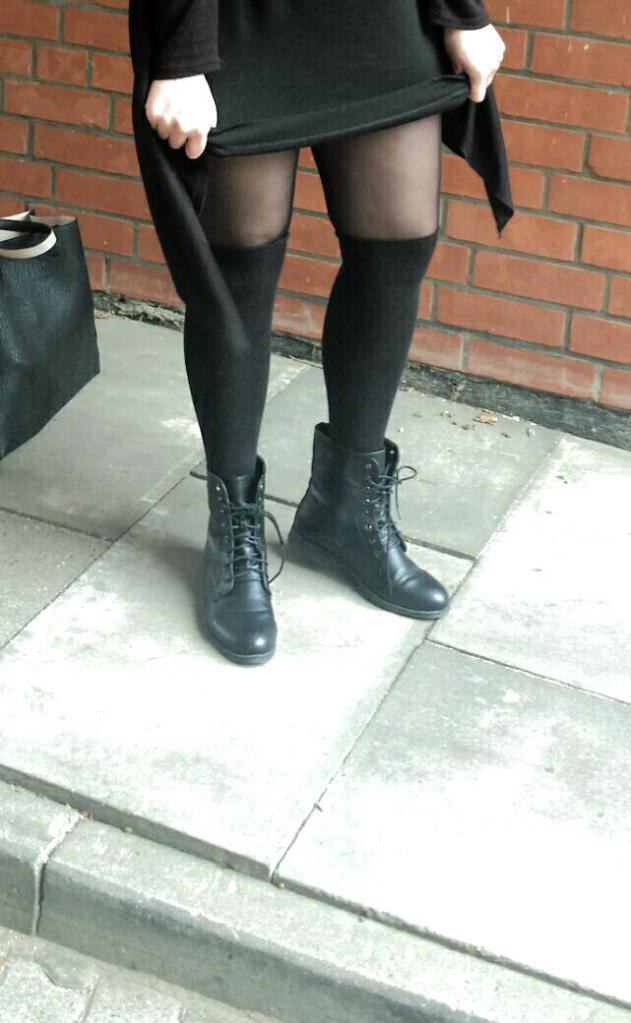 Modegeschmack-Black to Black