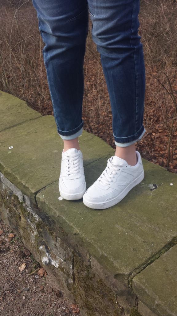 Sneaker Pull & Bear weiß
