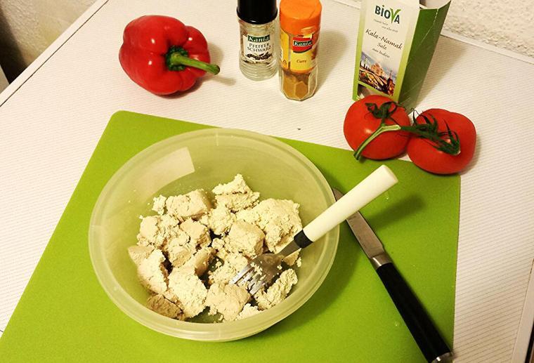 Veganes Rührei - einfach und schnell