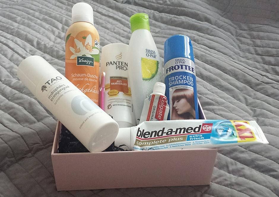 Aufgebrauchte Produkte April