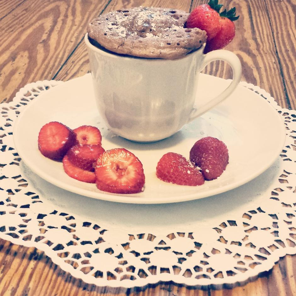 Veganer Tassenkuchen - einfach, schnell