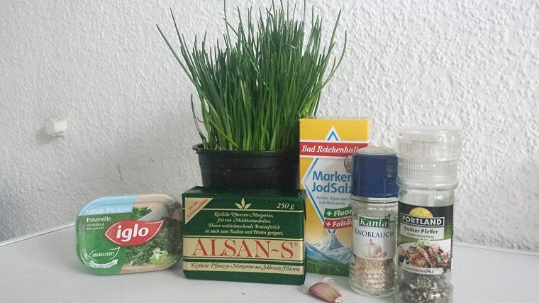 Vegane Kräuterbutter