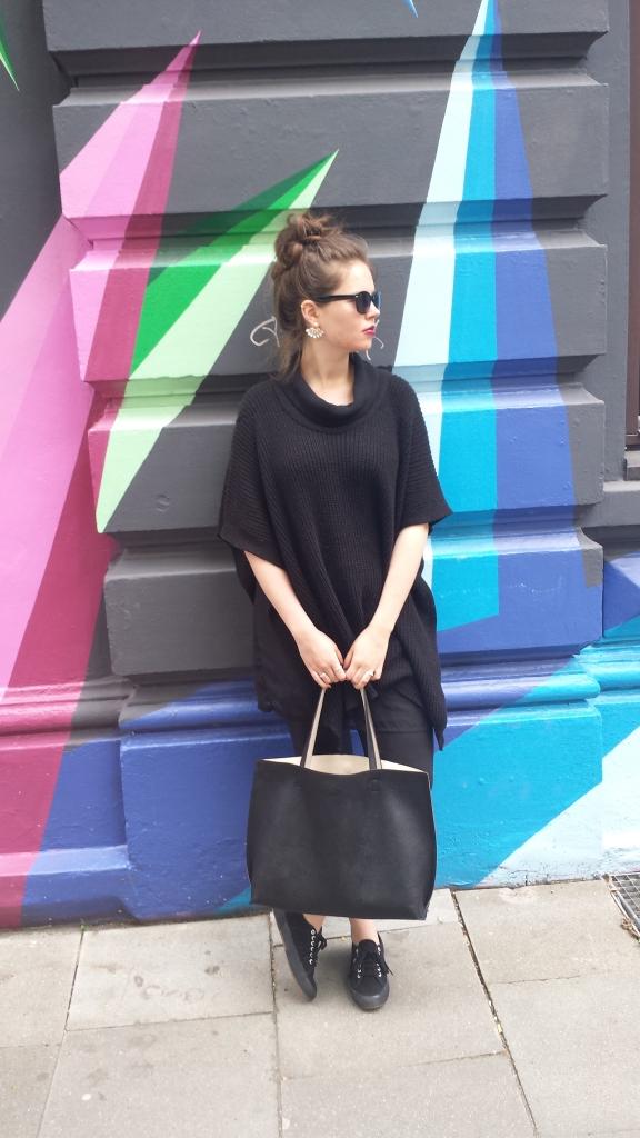 Komplett schwarz - so kombiniert man schwarze Kleidung #ootd