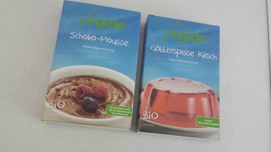 Vegane Dessertmischungen:Fertigmischungen
