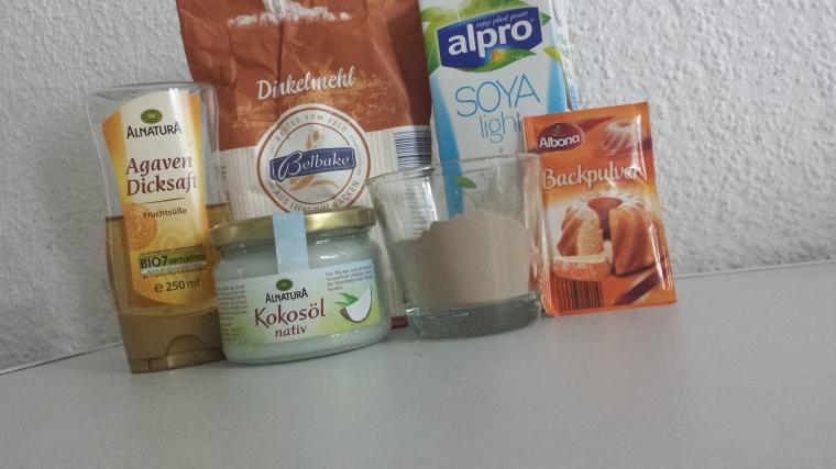 Protein Pfannkuchen - Zutaten vegan