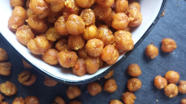 Kichererbsen Snack- gesund-einfach-vegan-modegeschmack